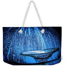 Blue Chevy Weekender Tote Bag