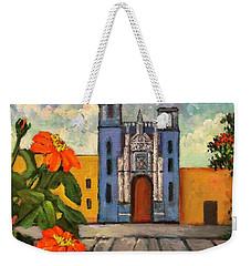 Blue Church   Iglesia Azul Weekender Tote Bag