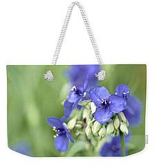 Blue Cluster Weekender Tote Bag