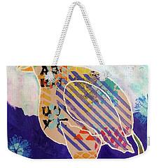 Blue Cornflower Weekender Tote Bag