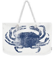 Blue Crab- Art By Linda Woods Weekender Tote Bag by Linda Woods