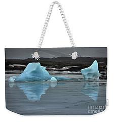 Blue Curacao Weekender Tote Bag