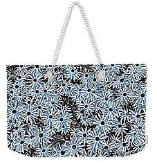 Blue Daisies Weekender Tote Bag