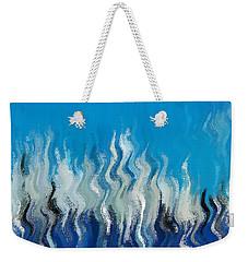 Blue Mist Weekender Tote Bag
