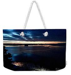 Blue Dawn On Casco Bay Weekender Tote Bag