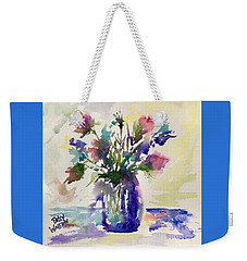 Blue Daze Weekender Tote Bag
