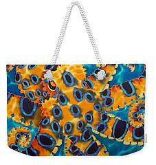 Blue Ringed Octopust Weekender Tote Bag