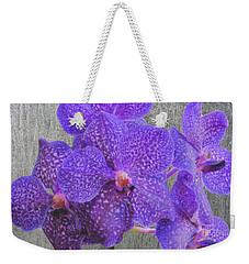 Purple Dendrobium Orchids Weekender Tote Bag