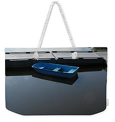 Blue Dinghy Quiet Waters Weekender Tote Bag