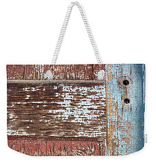 Blue Door Crackle Weekender Tote Bag
