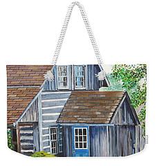 Blue Door Weekender Tote Bag by Marilyn  McNish