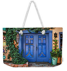 Blue Doors - Old Town - Albuquerque Weekender Tote Bag