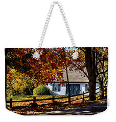 Blue Doors Weekender Tote Bag