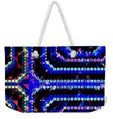 Blue Dot Weekender Tote Bag