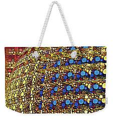 Blue Dots Weekender Tote Bag