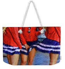 Blue Dress Breeze Weekender Tote Bag