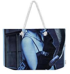 Blue Duet Weekender Tote Bag
