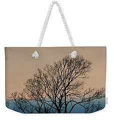 Weekender Tote Bag featuring the photograph Blue Dusk by Chris Berry
