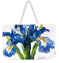 Blue Dutch Iris For Kappa Kappa Gamma Weekender Tote Bag
