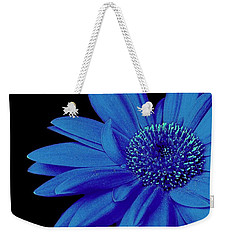 Blue Weekender Tote Bag by Elfriede Fulda