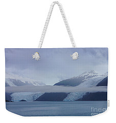 Blue Escape In Alaska Weekender Tote Bag