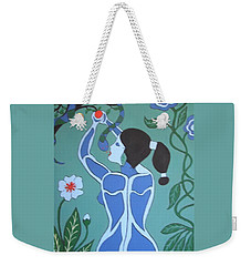 Blue Eve No. 1 Weekender Tote Bag
