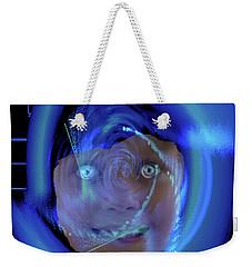 Blue Eyed Girl Weekender Tote Bag