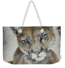 Blue Eyes Weekender Tote Bag