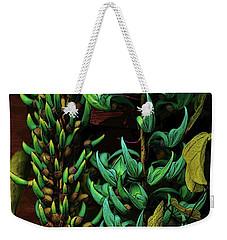 Blue Jade Vine Weekender Tote Bag by Craig Wood