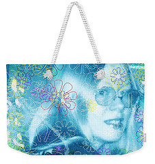 Blue Fairy Dream Weekender Tote Bag