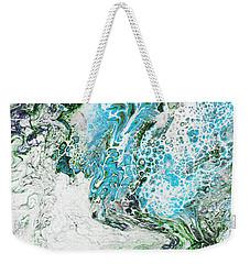 Blue Fluid Acrylic 4317 Weekender Tote Bag