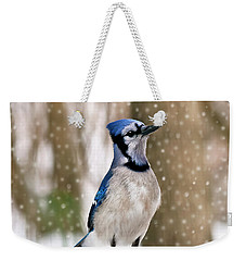 Blue For You Weekender Tote Bag by Evelina Kremsdorf