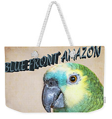 Blue Front Amazon Weekender Tote Bag