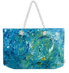 Blue Galaxy Weekender Tote Bag by Dorothy Maier