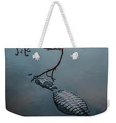 Blue Gator Weekender Tote Bag