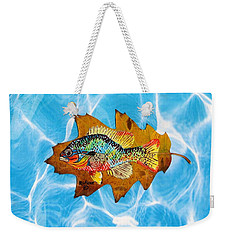Blue Gill Weekender Tote Bag by Ralph Root