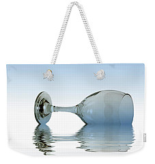 Blue Glass Weekender Tote Bag by David French