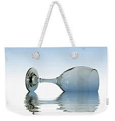 Blue Glass Weekender Tote Bag