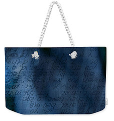 Blue Glimpse Weekender Tote Bag