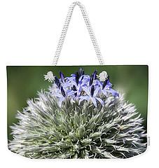 Blue Globe Thistle 3 - Weekender Tote Bag