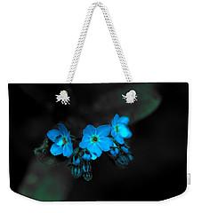 Blue Glow Weekender Tote Bag