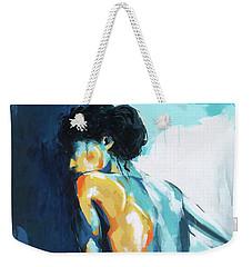 Blue Grace Weekender Tote Bag