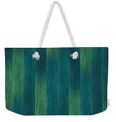 Blue Green Abstract 1 Weekender Tote Bag