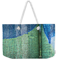 Blue/green Abstract Weekender Tote Bag