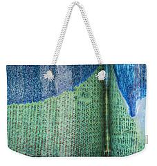 Blue/green Abstract Weekender Tote Bag