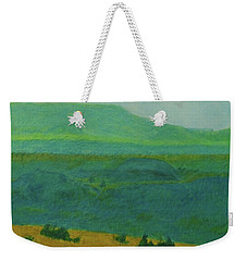 Blue-green Dakota Dream, 2 Weekender Tote Bag