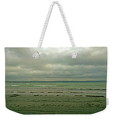 Blue Green Grey Weekender Tote Bag