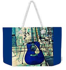 Blue Guitar Weekender Tote Bag