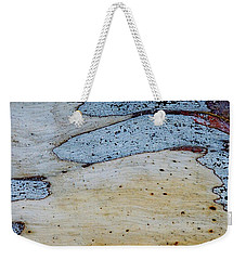 Blue Gum Abstract 3 Weekender Tote Bag