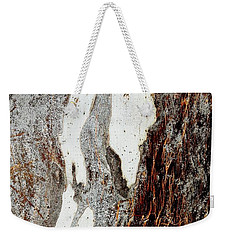 Blue Gum Bark Abstract 1 Weekender Tote Bag